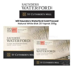 St Cuthberts - Saunders Waterford Hot Pressed Natural White Blok 20 Yaprak 300g