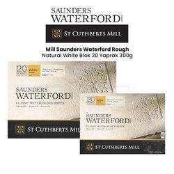 St Cuthberts - Saunders Waterford Rough Natural White Blok 20 Yaprak 300g