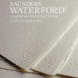 St Cuthberts - Saunders Waterford Rough Natural White Blok 20 Yaprak 300g (1)