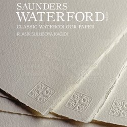 St Cuthberts - Saunders Waterford Rough Natural White Blok 20 Yaprak 300g (1)