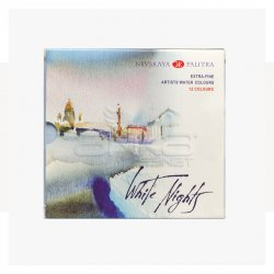St.Petersburg - St Petersburg White Nights Extra Fine Sulu Boya Seti 12li Tam Tablet Kod:1942036 (1)