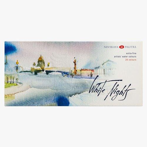St Petersburg White Nights Extra Fine Sulu Boya Seti 24lü Karton Kutu 1941061