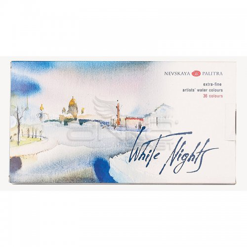 St Petersburg White Nights Extra Fine Sulu Boya Seti 36lı Tam Tablet Kod:1942258
