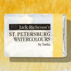 St.Petersburg - St Petersburg White Nights Tam Tablet Sulu Boya 1/1 Yellow Ochre 218