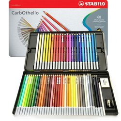 Stabilo - Stabilo Carb-Othello 60lı Pastel Kalem Seti