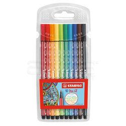 Stabilo - Stabilo Pen 68 Keçe Uçlu Kalem 10lu Set