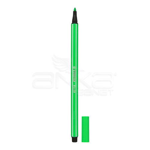 Stabilo Pen 68 Keçe Uçlu Kalem 15li Mavi Kutu