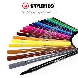 Stabilo - Stabilo Pen 68 Keçe Uçlu Kalem 1mm