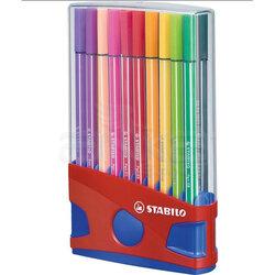 Stabilo - Stabilo Pen 68 Keçe Uçlu Kalem 20li Set (1)