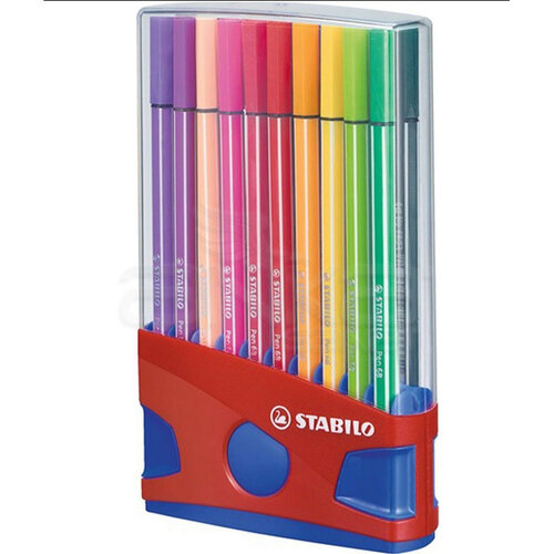 Stabilo Pen 68 Keçe Uçlu Kalem 20li Set