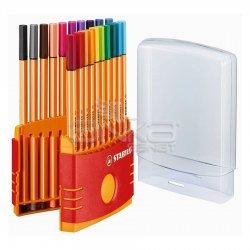 Stabilo - Stabilo Point 88 İnce Keçe Uçlu Kalem 20li Color Parade Set