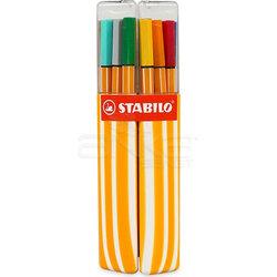 Stabilo - Stabilo Point 88 Twin İnce Keçe Uçlu Kalem 20li Set (1)