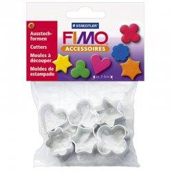 Fimo - Fimo Cutters Metal Kalıp Seti 6lı 8724 03