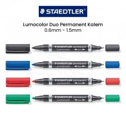 Staedtler - Staedtler Lumocolor Duo Permanent Kalem