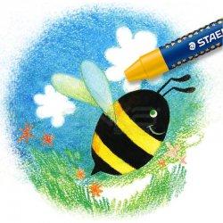 Staedtler - Staedtler Noris Wax Crayons Pastel Boya 16lı 2240 C16 (1)
