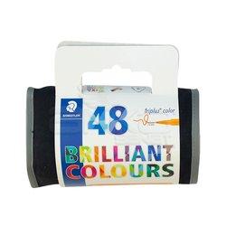 Staedtler Triplus Color Keçe Uçlu Kalem 1.0mm 48li Çantalı Set - Thumbnail