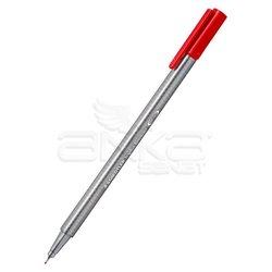 Staedtler - Staedtler Triplus Fineliner İnce Uçlu Keçeli Kalem 0.3mm 10lu (1)