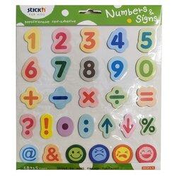 Anka Art - Stickn Sayılar ve İşaretler Seti 28x15 Yaprak B292