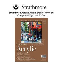 Strathmore Acrylic Akrilik Defteri 400 Seri 10 Yaprak 400g 22.9x30.5cm - Thumbnail