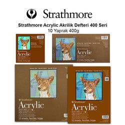 Strathmore - Strathmore Acrylic Akrilik Defteri 400 Seri 10 Yaprak 400g