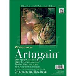 Strathmore - Strathmore Artagain Drawing Paper Karışık 24 Yaprak 160g 400 Series (1)
