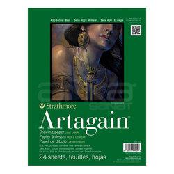 Strathmore - Strathmore Artagain Drawing Paper Siyah 24 Yaprak 160g 400 Series (1)