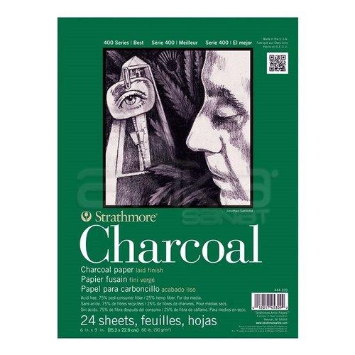 Strathmore Charcoal 24 Yaprak 90g 400 Series