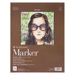 Strathmore - Strathmore Marker Paper 400 Seri 24 Yaprak 190g (1)