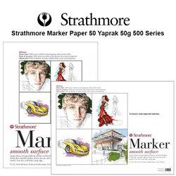 Strathmore - Strathmore Marker Paper 50 Yaprak 50g 500 Series