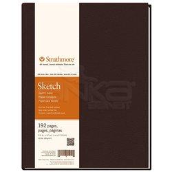 Strathmore - Strathmore Sketch Sert Kapak 400 Seri 89g 192 Sayfa (1)