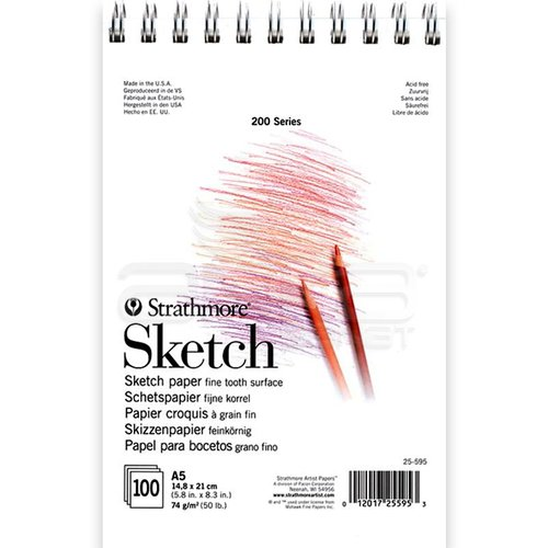 Strathmore Sketch Spiralli 100 Yaprak 74g 200 Series