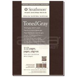 Strathmore - Strathmore Toned Gray Esnek Kapak 112 Sayfa 118g 400 Series (1)