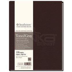 Strathmore - Strathmore Toned Gray Hardbound 128 Yaprak 118g 400 Series (1)