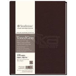 Strathmore - Strathmore Toned Gray Hardbound 128 Sayfa 118g 400 Series (1)