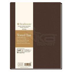 Strathmore - Strathmore Toned Tan Hardbound 128 Yaprak 118g 400 Series (1)