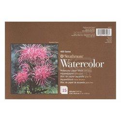 Strathmore - Strathmore Watercolor Cold Press Üstten Yapışkanlı 15 Yaprak 300g 400 Series (1)