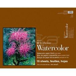 Strathmore Watercolor Cold Press Üstten Yapışkanlı 15 Yaprak 300g 400 Series - Thumbnail