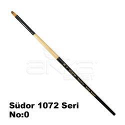 Südor - Südor 1072 Seri Kedi Dili Yağlı Boya-Akrilik Boya Fırçası (1)
