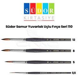 Südor 110 Seri Yuvarlak Uçlu Fırça - Thumbnail