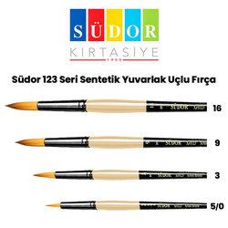 Südor - Südor 123 Seri Sentetik Yuvarlak Uçlu Fırça