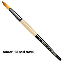 Südor - Südor 123 Seri Sentetik Yuvarlak Uçlu Fırça (1)