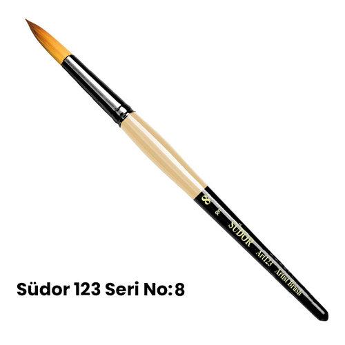 Südor 123 Seri Sentetik Yuvarlak Uçlu Fırça