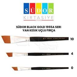 Südor - Südor Black Gold 1955A Seri Yan Kesik Uçlu Fırça