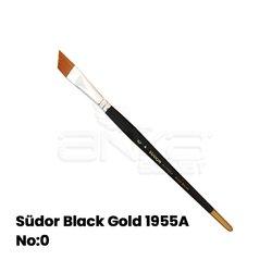 Südor - Südor Black Gold 1955A Seri Yan Kesik Uçlu Fırça (1)