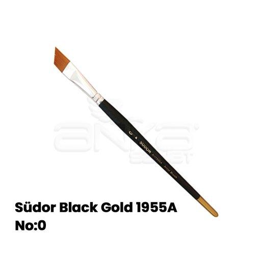 Südor Black Gold 1955A Seri Yan Kesik Uçlu Fırça