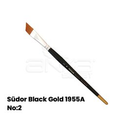 Südor Black Gold 1955A Seri Yan Kesik Uçlu Fırça - Thumbnail