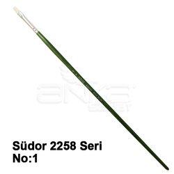 Südor - Südor 2258 Seri Düz Kesik Uçlu Kıl Fırça (1)