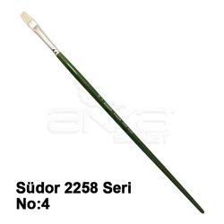 Südor 2258 Seri Düz Kesik Uçlu Kıl Fırça - Thumbnail