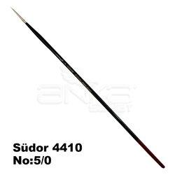 Südor - Südor 4410 Seri Kızıl Sentetik Yuvarlak Uçlu Fırça (1)
