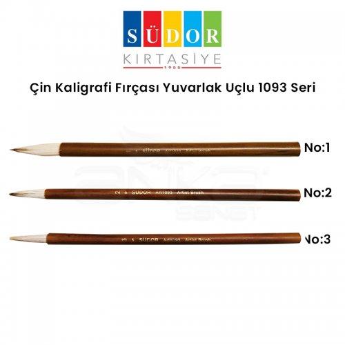 Südor Çin Kaligrafi Fırçası Yuvarlak Uçlu 1093 Seri
